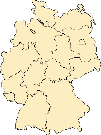 Image Map Deutsche Laender