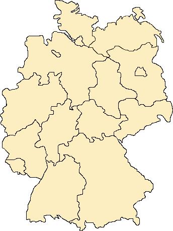 Image Map Deutsche Laender