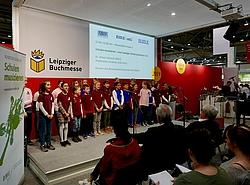Chorauftritt der Klasse 4, Lessingschule Leipzig
