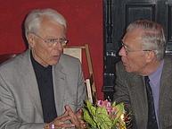 Karl Heinrich Ehrenforth im Gespräch mit Knut Grotrian-Steinweg in Weimar