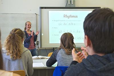 Ricarda-Huch-Schule, Hannover. Foto: Daniel Düsterdiek