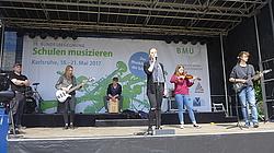 """Band """"Twenty Twelve"""" des Vicco-von-Bülow-Gymnasiums Stahnsdorf, Brandenburg; Foto: Tischler"""